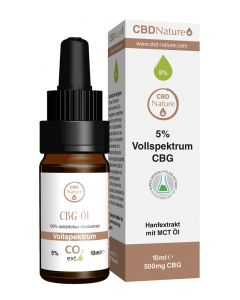 CBD Nature CBG Öl 5%, 10ml