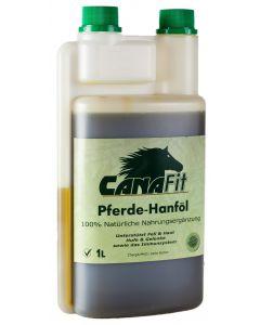 CanaFit Pferde-Hanföl - 1L Dosierflasche