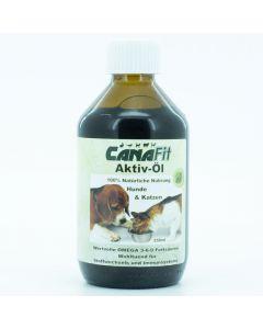 CanvaFit Aktiv Öl für Hunde und Katzen