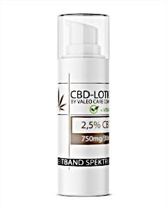 Valeocare CBD Lotion 2.5% (30ml)